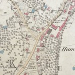Ham, Ordnance Survey - 1880. The Sally is plot 267.